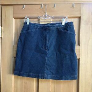 Halogen Jean Mini Skirt